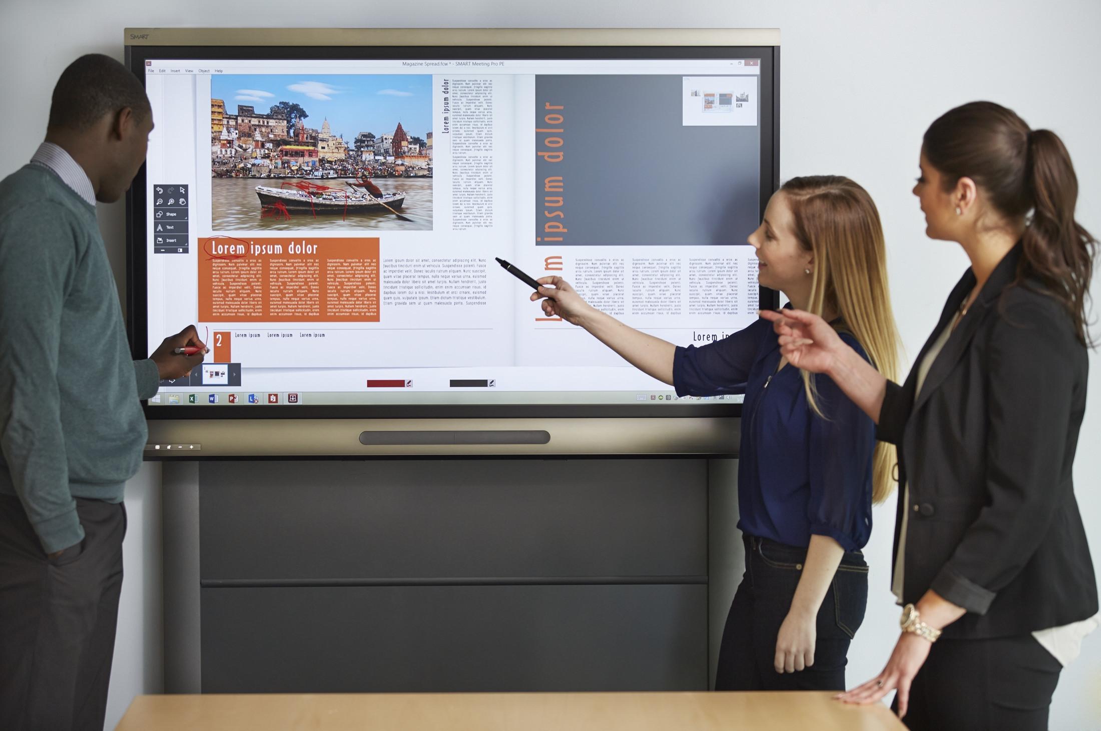 製品ラインナップ 仕様 Smart Board(スマートボード) オフィス分野|内田洋行
